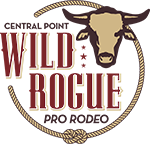Central Point Wild Rogue Pro Rodeo Logo