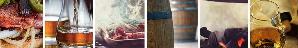Bacon & Barrel Collage