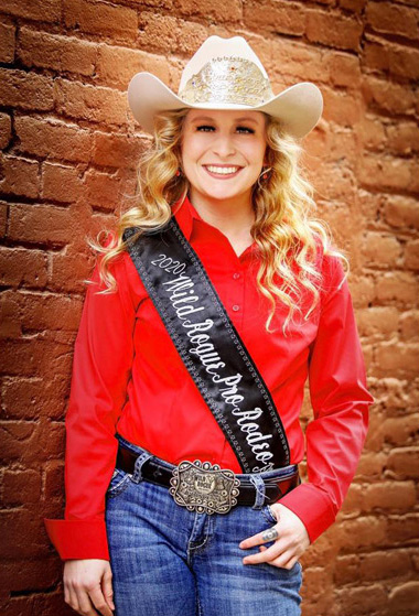 Wild Rogue Pro Rodeo Princess: Abby Torerson